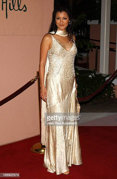 Kelly Hu in Sue Wong during 11th Annual Diversity Awards at Beverly Hills Hotel in Beverly Hills California United States
