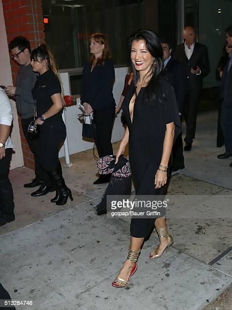 Kelly Hu is seen on March 01 2016 in Los Angeles California