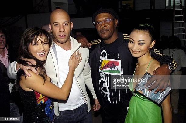 Kelly Hu Vin Diesel Samuel L Jackson and Bai Ling