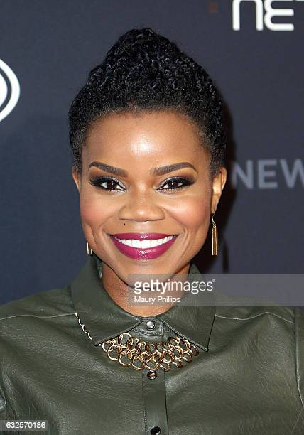 Kelly Jenrette arrives at BET's The New Edition Story premiere screening on January 23 2017 in Los Angeles California