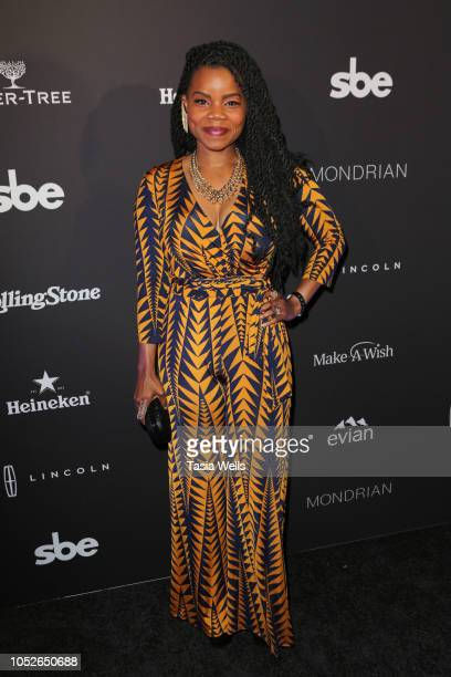 Kelly Jenrette attends Taste of SBE'S Grand Dinner at Skybar at Mondrian Los Angeles to benefit Make-A-Wish Foundation with Rolling Stone at Mondrian...