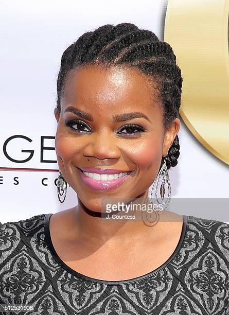 Kelly Jenrette attends the Gospel Goes To Hollywood celebration at Vibiana on February 26 2016 in Los Angeles California