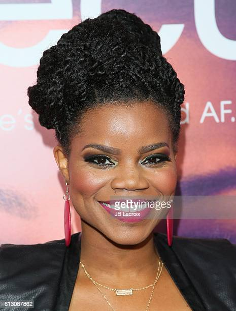Kelly Jenrette attends the premiere of 'Insecure' at Nate Holden Performing Arts Center on October 6, 2016 in Los Angeles, California.