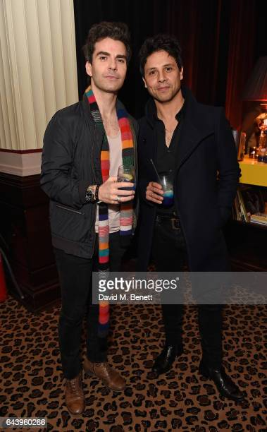 Kelly Jones and guest attend The Warner Music Ciroc Brit Awards After Party on February 22 2017 in London England