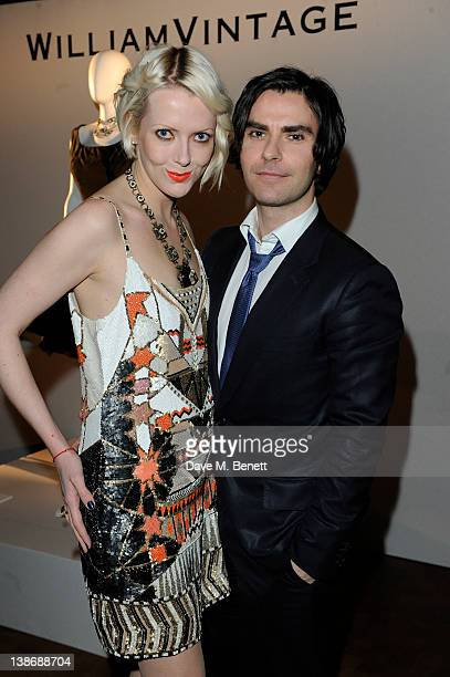Kelly Jones and Jakki Healy attend a private dinner hosted by WilliamVintage and Gillian Anderson at St Pancras Renaissance Hotel on February 10,...