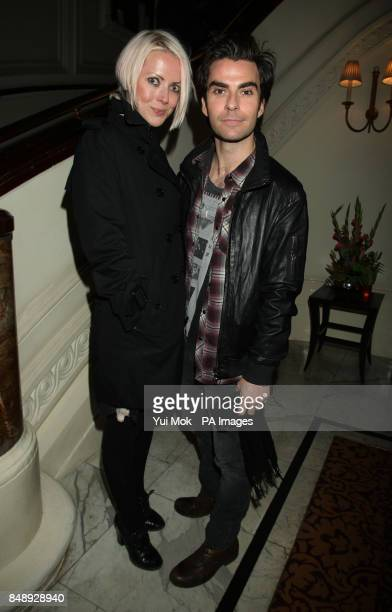 Kelly Jones and Jakki Healy attend the press night party for Uncle Vanya, at the Charing Cross Hotel in central London.