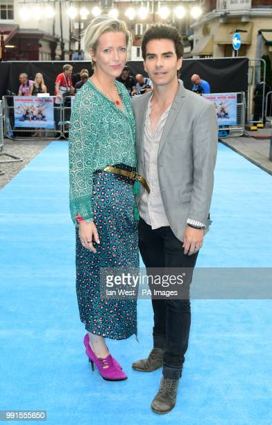 Kelly Jones and Jakki Healy attending the Swimming with Men premiere held at Curzon Mayfair, London.