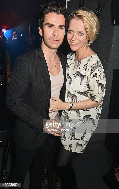 Kelly Jones and Jakki Jones attend Above / Beyond hosted by American Airlines at One Marylebone on September 29 2015 in London England