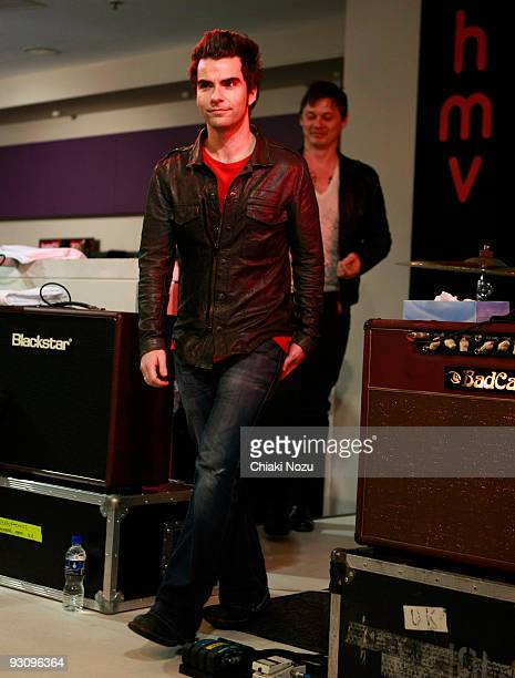 Kelly Jones and Richard Jones of Stereophonics perform at HMV on Oxford Street during a store appearance on November 16 2009 in London England