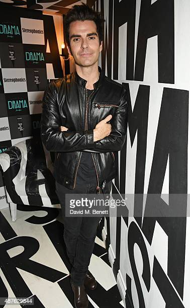 Kelly Jones attends the launch of Stereophonics' new album Keep The Village Alive at Drama Club on September 10 2015 in London England