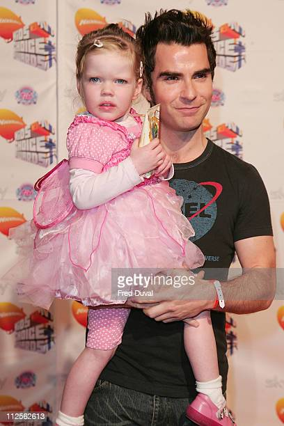 Kelly Jones attends the Nickelodeon Kids' Choice Awards on October 20 2007 in London England