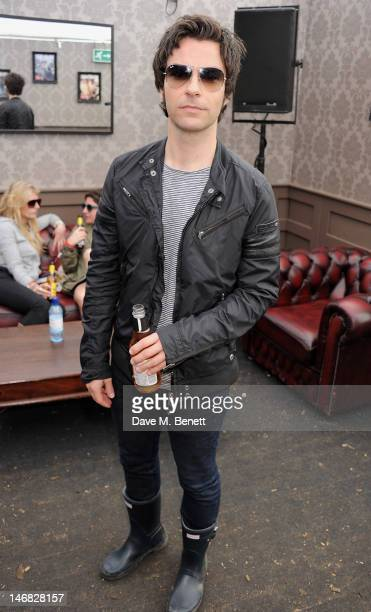 Kelly Jones attends the RayBan Rooms during day two of the Isle of Wight Festival at Seaclose Park on June 23 2012 in Newport Isle of Wight