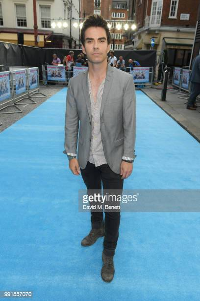 Kelly Jones attends the UK Premiere of Swimming With Men' at The Curzon Mayfair on July 4 2018 in London England