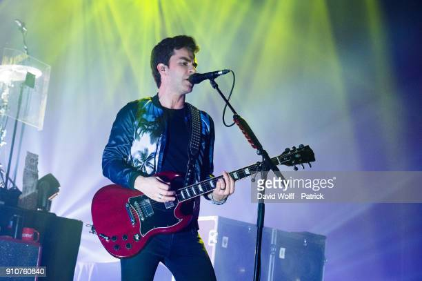 Kelly Jones from Stereophonics performs at L'Olympia on January 26 2018 in Paris France