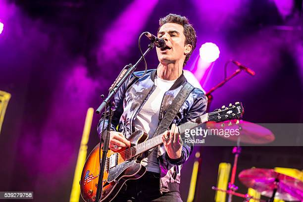 Kelly Jones from Stereophonics performs at the Isle Of Wight Festival 2016 at Seaclose Park on June 10 2016 in Newport Isle of Wight