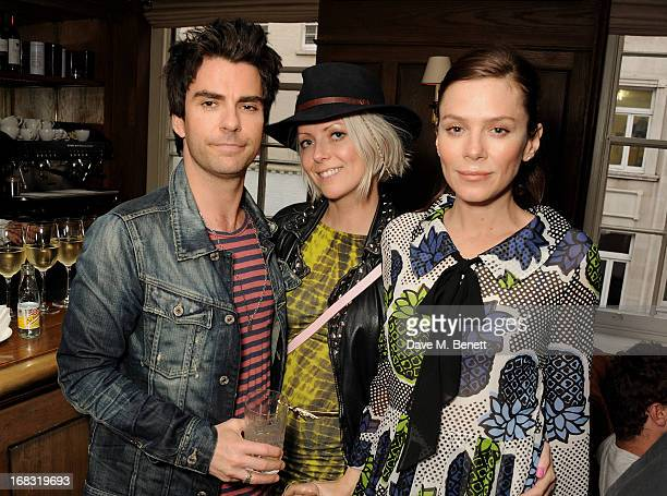 "Kelly Jones, Jakki Healy and Anna Friel attend a book launch party for ""Pearl Lowe's Vintage Craft: 50 Craft Projects and Home Styling Advice"" by..."