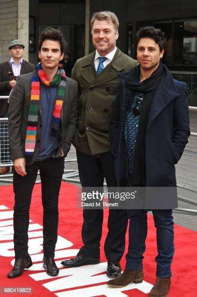 Kelly Jones Jonny Owen and Adam Zindani attend the UK Premiere of Jawbone at BFI Southbank on May 8 2017 in London United Kingdom