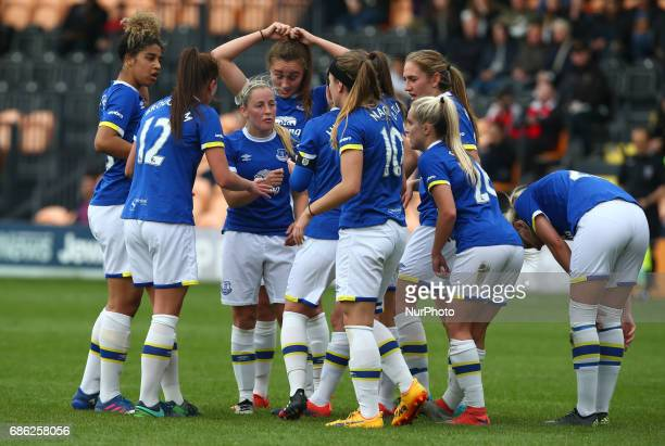 Kelly Jones of Everton Ladies during Women's Super League 2 Spring Series match between London Bees against Everton Ladies at The Hive Barnet FC on...
