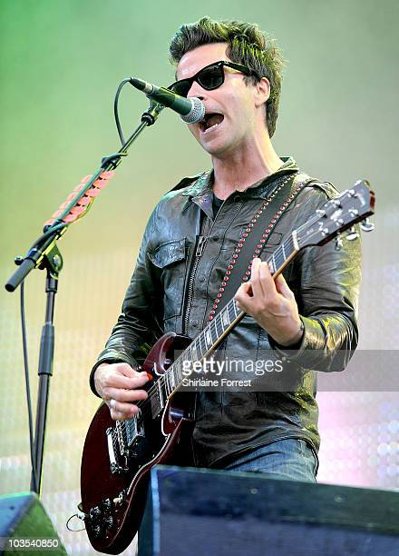 Kelly Jones of Stereophonics performs at day two of V Festival at Weston Park on August 22 2010 in Stafford England