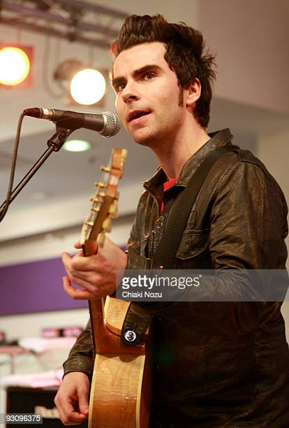 Kelly Jones of Stereophonics performs at HMV on Oxford Street during a store appearance on November 16 2009 in London England