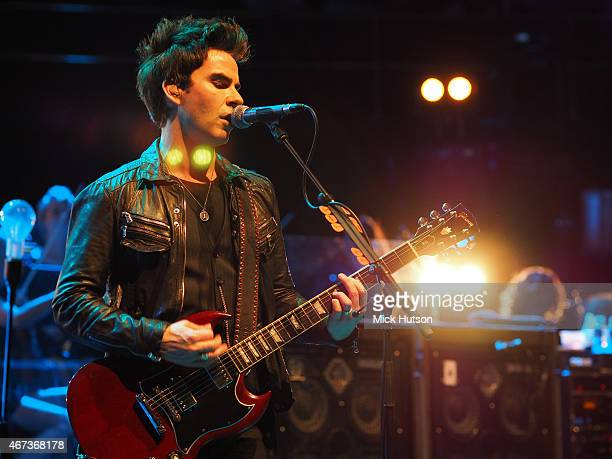 Kelly Jones of Stereophonics performs during Teenage Cancer Trust 15th Anniversary Year Concert at Royal Albert Hall on March 23 2015 in London...