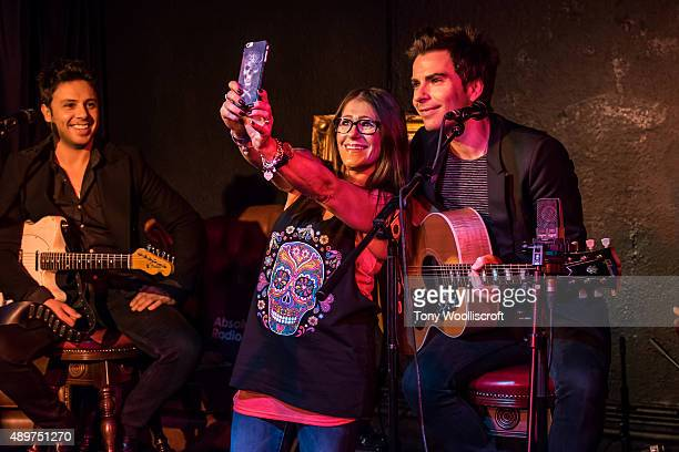 Kelly Jones of Stereophonics performs live on the Absolute Radio Christian O'Connell breakfast show to celebrate the launch of the station on 1052 in...