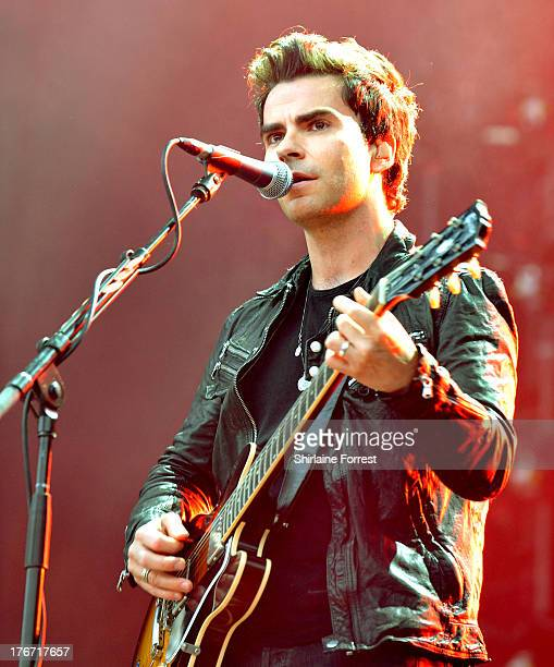 Kelly Jones of Stereophonics performs on day 1 of the V Festival at Weston Park on August 17 2013 in Stafford England