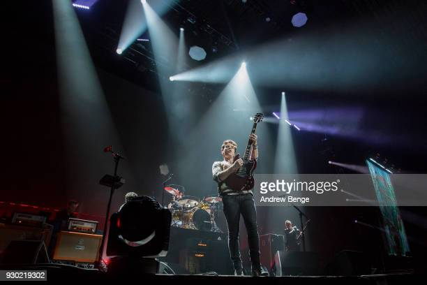 Kelly Jones of Stereophonics performs on stage at First Direct Arena on March 10 2018 in Leeds England