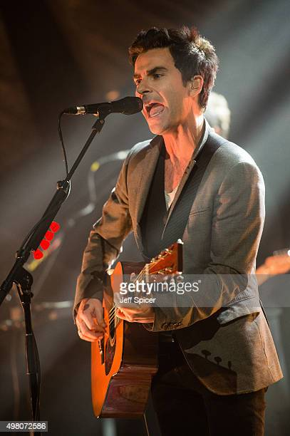 Kelly Jones of the Stereophonics during a live broadcast of 'TFI Friday' on November 20 2015 in London England