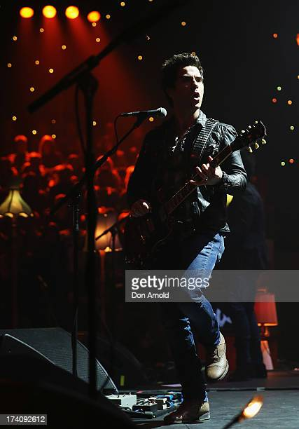 Kelly Jones of the Stereophonics performs live on stage at Seymour Theatre on July 20 2013 in Sydney Australia