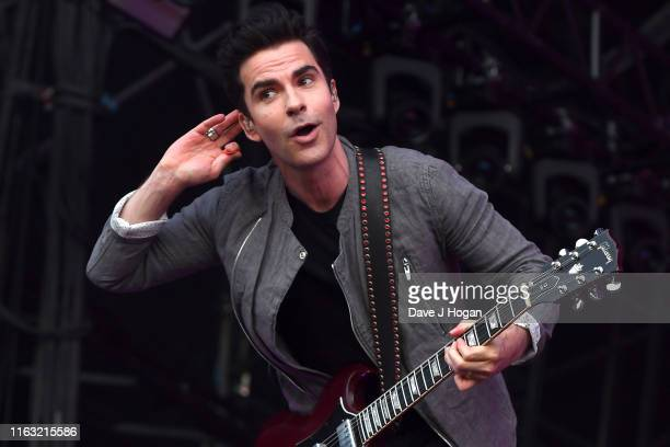 Kelly Jones of the Stereophonics performs on stage during Latitude Festival 2019 at Henham Park on July 20 2019 in Southwold England