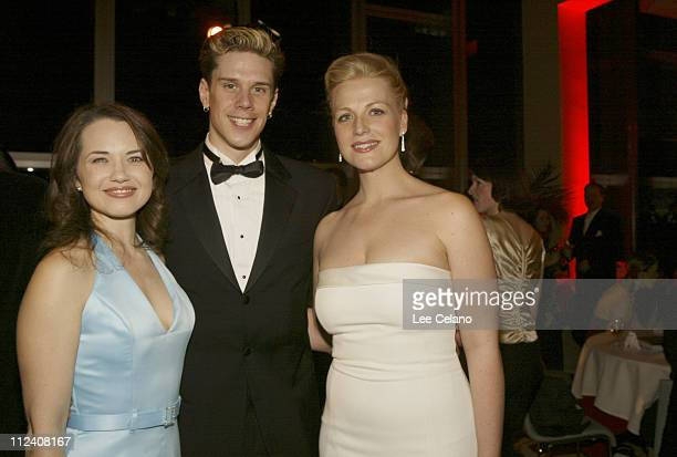 Kelly Kaduce David Martin and Chloe Wright during Opening Night of La Boheme After Party at Dorothy Chandler Pavillion in Los Angeles California...