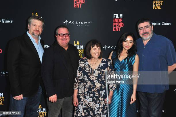 Kelly Kahl Sean Hanish Judy Wood Aimee Garcia and Alfred Molina attend the screening of 'Saint Judy' during the 2018 LA Film Festival at ArcLight...