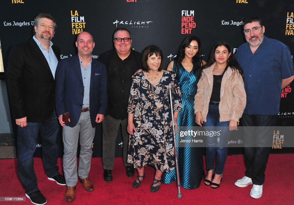 Kelly Kahl, Trevor Brisbin, Sean Hanish, Judy Wood, Aimee