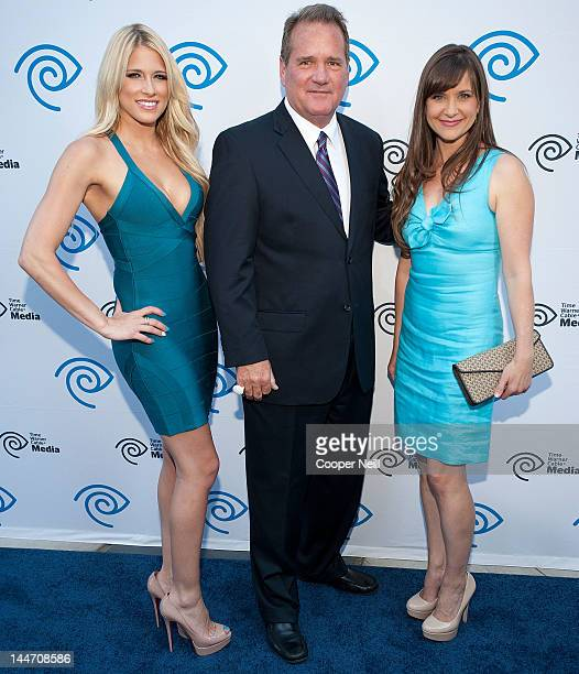 Kelly Kelly aka Barbara Barbie Blank John McKay and Kellie Martin arrive for the Time Warner Cable Media's Cabletime Upfront event at Private Social...
