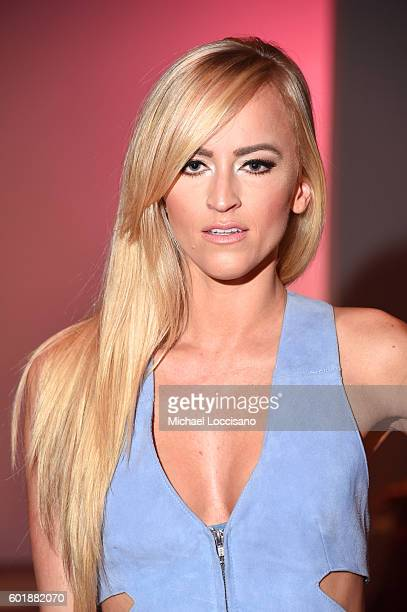 Kelly Kelly attends the Dan Liu fashion show during New York Fashion Week The Shows September 2016 at The Gallery Skylight at Clarkson Sq on...