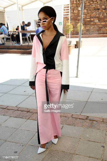 Kelly Khumalo during the 2019 Feather Awards Nominees Announcement at Constitution Hill on August 29 2019 in Johannesburg South Africa The annual...