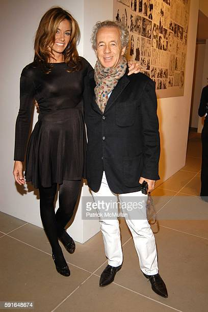 Kelly Killoren Bensimon and Gilles Bensimon attend Calvin Klein and Diana Widmaier Picasso celebrate the launch of her book PICASSO ART CAN ONLY BE...