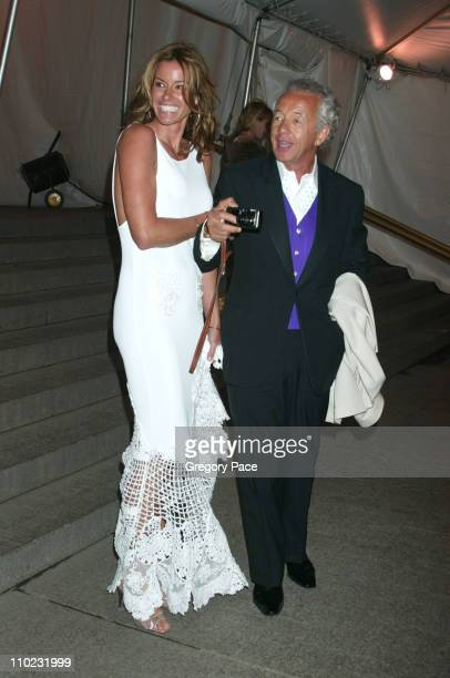 Kelly Killoren Bensimon and Gilles Bensimon during The Costume Institute's Gala Celebrating Chanel Departures at The Metropolitan Museum of Art in...