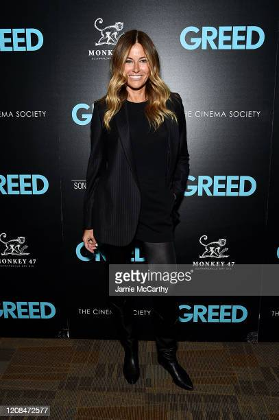 Kelly Killoren Bensimon attends Sony Pictures Classics The Cinema Society Special Screening Of Greed at Cinepolis Chelsea on February 24 2020 in New...