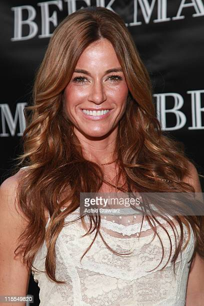 Kelly Killoren Bensimon attends the Beekman Beer Garden Beach Club grand opening party on June 7, 2011 in New York City.