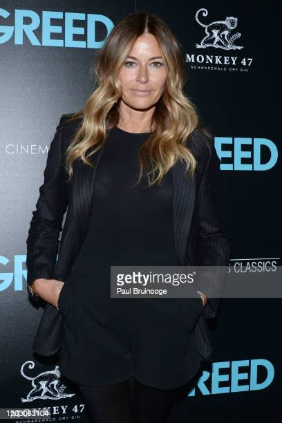 "Kelly Killoren Bensimon attends The Cinema Society & Monkey 47 Host A Special Screening Of Sony Pictures Classics' ""Greed"" at Cinepolis Chelsea on..."