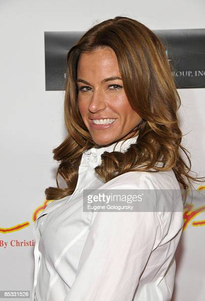 Kelly Killoren Bensimon attends the Faces of Fashion Week soiree at RDV on February 17 2009 in New York City