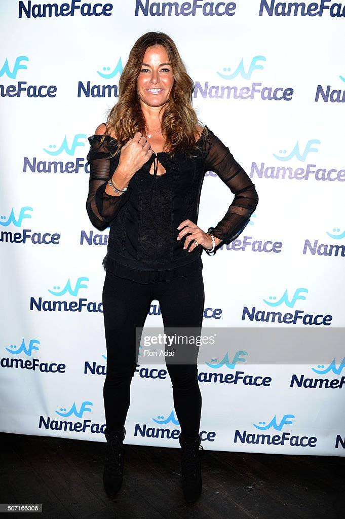 Kelly Killoren Bensimon attends the NameFace.com Launch at No. 8 on January 27, 2016 in New York City.