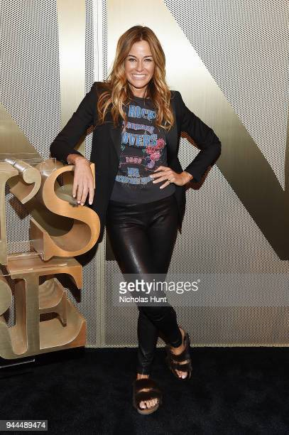 Kelly Killoren Bensimon attends the Nordstrom Men's NYC Store Opening on April 10 2018 in New York City
