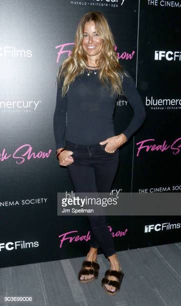 Kelly Killoren Bensimon attends the premiere of IFC Films' 'Freak Show' hosted by The Cinema Society and Bluemercury at Landmark Sunshine Cinema on...