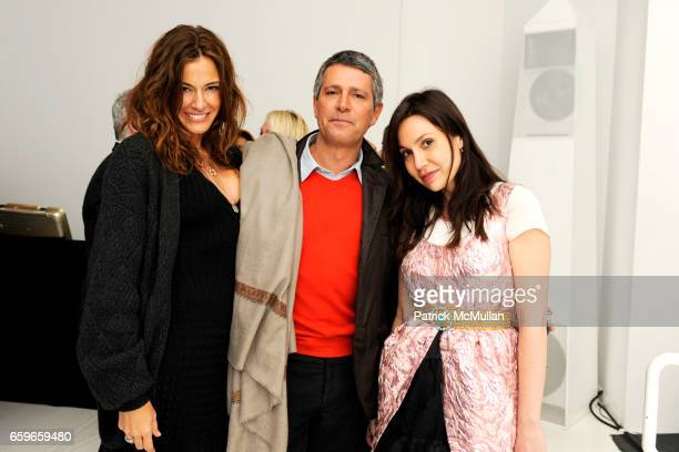 Kelly Killoren Bensimon Carlos Souza and Fabiola Beracasa attend BRIAN ATWOOD and BYRDIE BELL Host ROLE PLAY RENE at 201 Mulberry St on March 19 2009...