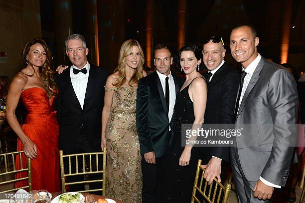 Kelly Killoren Bensimon Gilles Bensimon Mary Alice Stephenson Jonny Lee Miller Michele Hicks Robert Verdi and Nigel Barker attend An Evening of...
