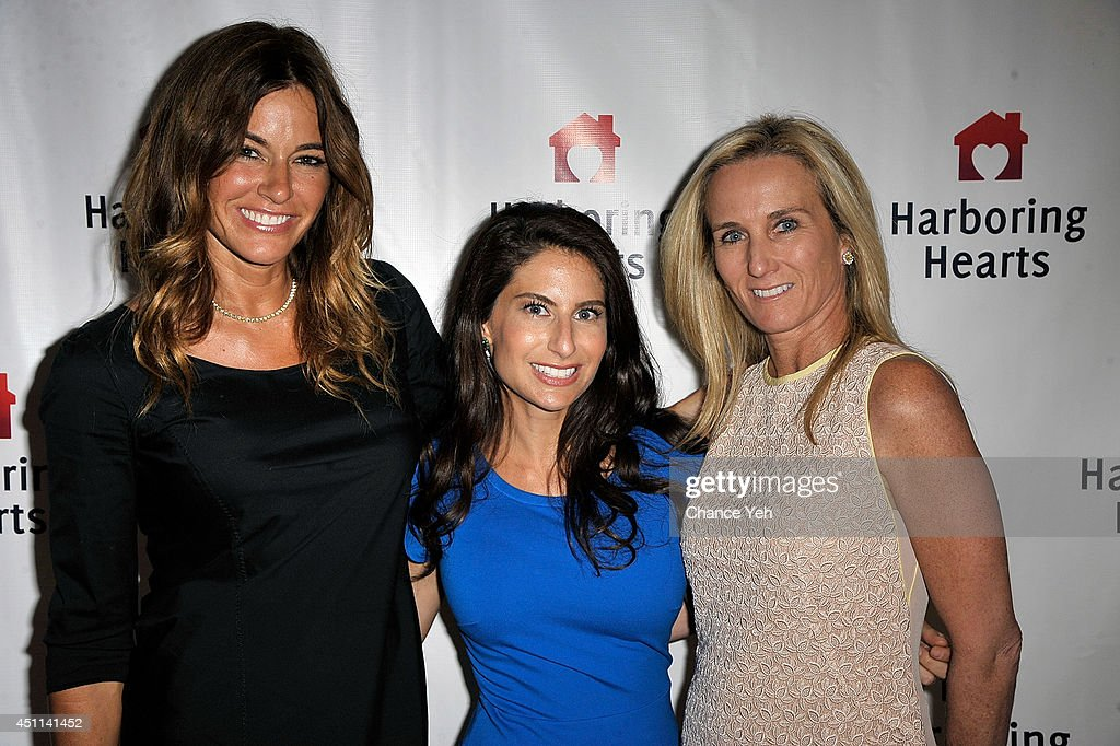 Kelly Killoren Bensimon, Michelle Javian and Hope Geier Smith attend Harboring Hearts' 2nd annual Summer Soiree at Rubin Museum of Art on June 23, 2014 in New York City.