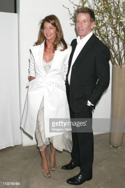 Kelly Klein and Calvin Klein during The International Center of Photography's 21st Annual Infinity Awards Inside at Skylight Studios in New York City...